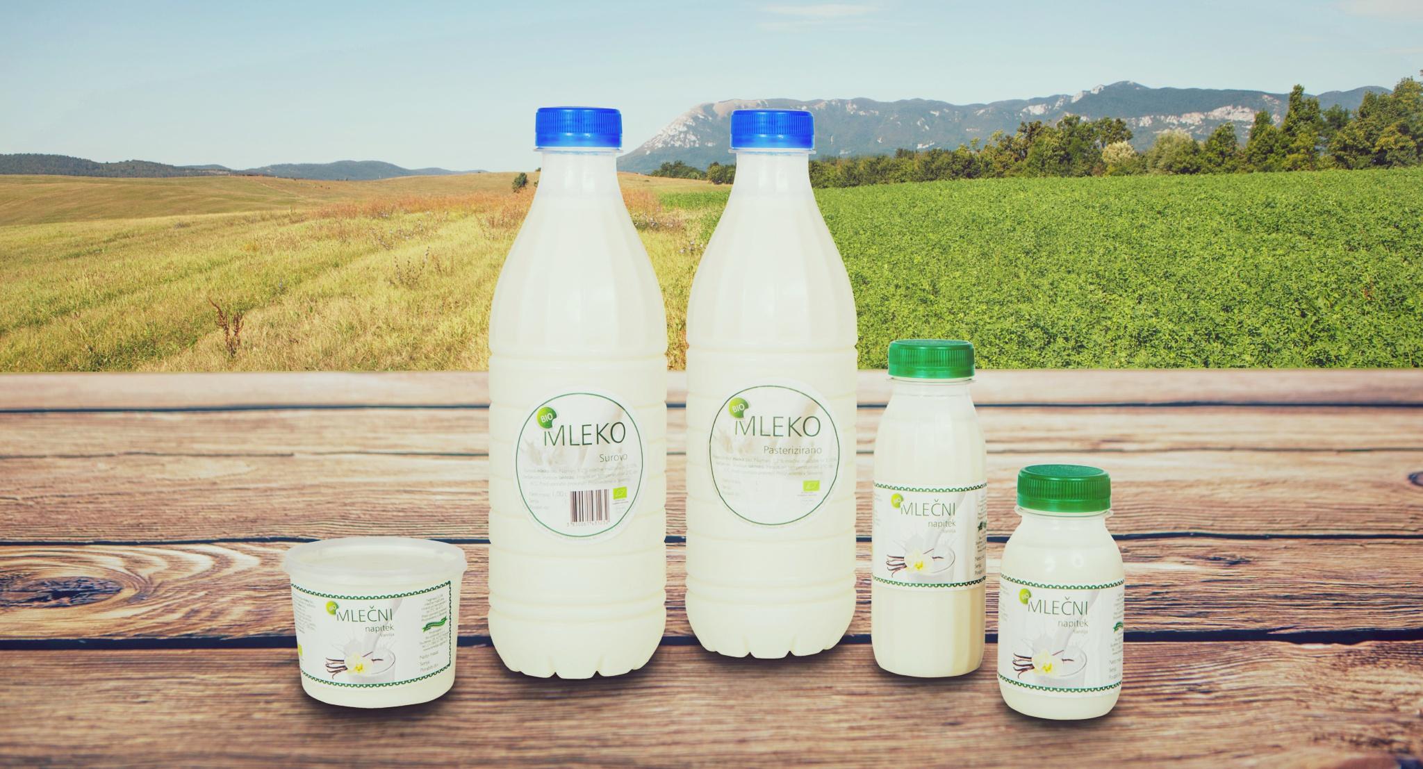 bio mleko, mlečni proizvodi, bio surovo mleko, surovo mleko, domače mleko